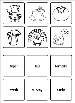 ABC flashcards to print