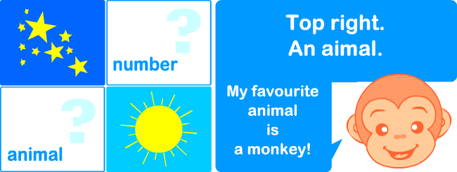 Talking about favourite things in English | Printable resources