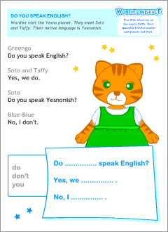 Learn new vocabulary words games