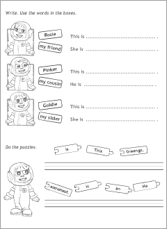 Introducing others in English | Printable resources