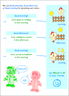 Greetings in english printable resources english lessons expressions m4hsunfo
