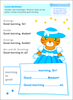 Greetings in english printable resources everyday english dialogues m4hsunfo