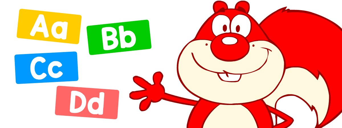 English grammar for kids: abc