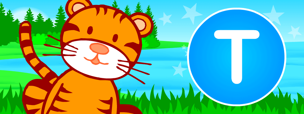 English Abc Animals For Kids