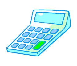 English vocabulary: calculator