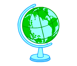 English vocabulary: globe