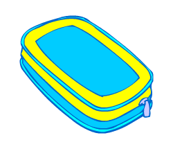 English words: pencase