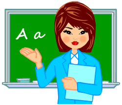 English words: teacher