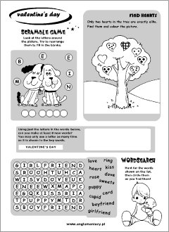 English holidays. Printables