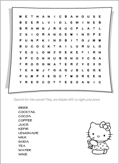 graphic about Printable Wordsearch for Kids referred to as Wordsearch puzzles Printables for ESL instructors and young children
