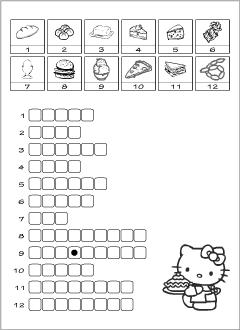 Food vocabulary for kids learning English | Printable resources