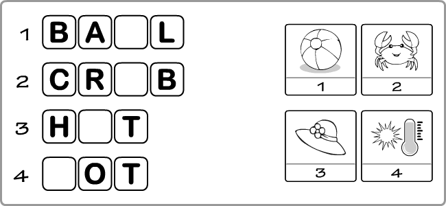 English Vocabulary Printables For Kids Worksheets