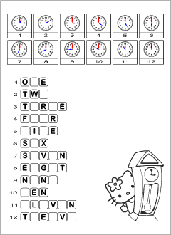 Worksheets for learning English